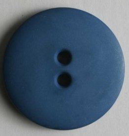 Dill Buttons 190982 Blue Matte 18 mm