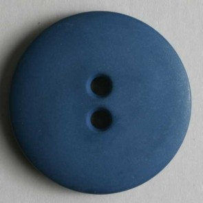 Dill Buttons 181072 Blue Matte 15 mm
