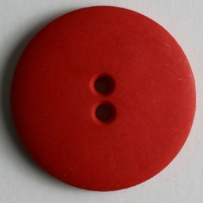 Dill Buttons 181070 Red Matte 15 mm