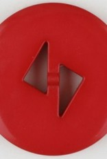 Dill Buttons 265710 Red Tri Cut 18 mm