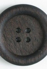 Dill Buttons 260923 Wood 4 HOLE 23 mm