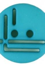 Dill Buttons Aqua Cutout Button 14 mm 215714