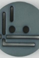 Dill Buttons 215700 Grey Cutout 14 mm