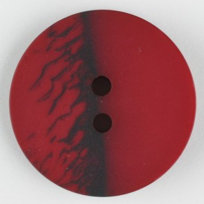 Dill Buttons 314709 Cranberry Inkspot 18 mm