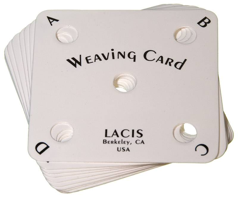 Weaving Cards Laci's