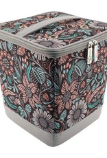 Everything Mary Knitting Yarn Tote Floral Grey