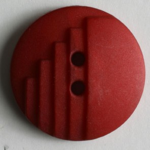 Dill Buttons 231134 Red Deco Button 18mm