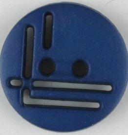 Dill Buttons Navy Cutout Button 14 mm 215710