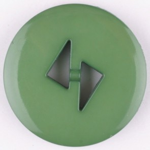 Dill Buttons 265708 Green Tri Cut 18 mm
