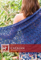 Juniper Moon Farm Catalan Shawl in Zooey