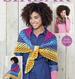 Sirdar 8029 Sirdar ColourWheel DK Crochet Shawl