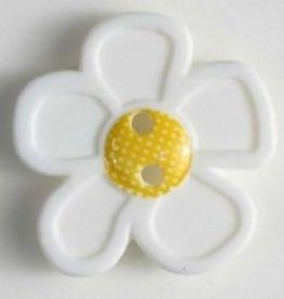 Dill Buttons White Flower 28 mm 340552