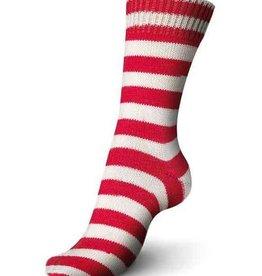 Regia Regia 4 ply 5392 Red & White Stripe