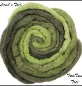 frabjous fibers Frabjous Fibers Lambs Tail Merino Sparkle Top TUM TUM TREE 5 OZ