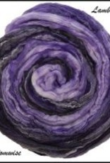frabjous fibers Frabjous Lambs Tail Merino Sparkle Top PHANTOMWISE 5 OZ