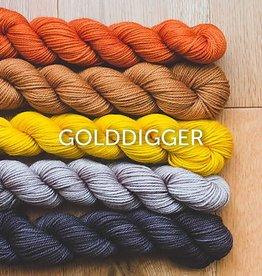 sweetgeorgia sweetgeorgia GOLDDIGGER CASHLUXE FINE Mini Skein 100 yards ASST