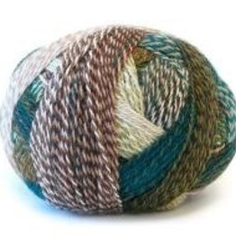Schoppel ZauberBall Crazy 2250 TEAL & BROWN