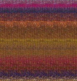 Noro Noro Silk Garden Sock 423 BROWN MAGENTA PURPLE