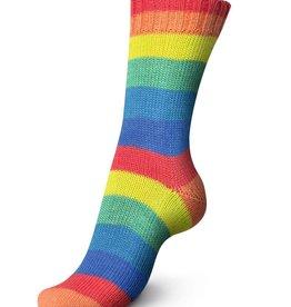 Regia Regia PairFect 4 ply Rainbow 1736 NEON