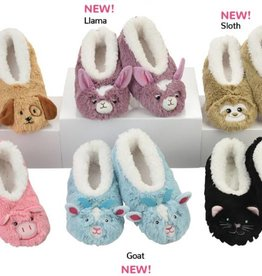 Snoozies Snoozie Slippers Toddler Animal Size M (7/8)