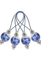 knitters pride Knitters Pride 8386 Zooni Stitch Markers BLOOMING BLUE