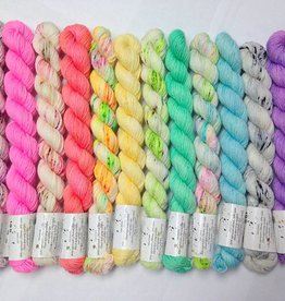 Hedgehog Fibres The Crown Wools Kit #1 Pastels
