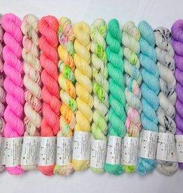 Hedgehog Fibres The Crown Wools Kit #1 Pastels
