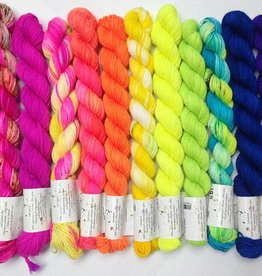Hedgehog Fibres The Crown Wools Kit #3 Brights