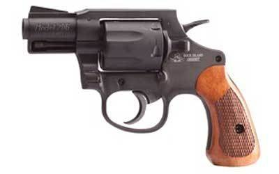 "ARMSCOR ARMSCOR M206 .38 SPL 2"" BLACK 6 SHOT WITH WOOD AND BLACK RUBBER GRIPS"