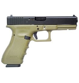 "GLOCK GLOCK 17 GEN 3 OD GREEN  9MM 4.49"" 10RD"