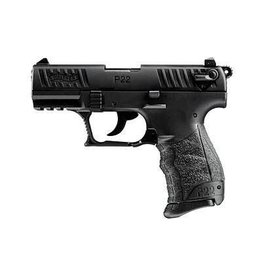 "WALTHER WALTHER P22 22LR 3.4"" BLACK 1-10RD CA"