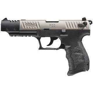 "WALTHER P22 TARGET 22LR 10+1 5"" NKL CA ***ON SALE $399.99***"