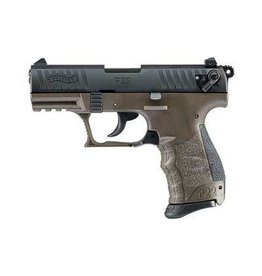 "WALTHER P22 MLTRY 22LR 10+1 3.4"" OD GREEN CA"