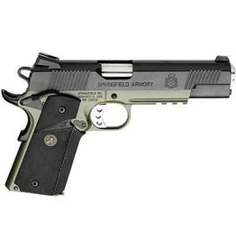 "SPRINGFIELD SPRINGFIELD 1911 MC OPERATOR .45 OD GREEN 5"" (NEED SERIAL NUMBER FOR LETTER)"