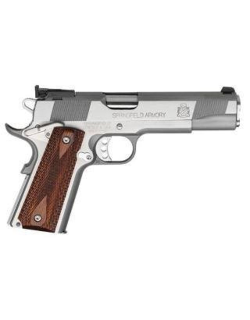 """SPRINGFIELD SPRINGFIELD 1911-A1 9MM 5"""" SS AS TARGET CA LEGAL"""