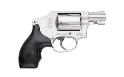 """SMITH AND WESSON S&W 642 1.875"""" 38SPL STS CENT WO/IL"""