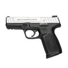 """S&W SD9VE 9MM 10RD 4"""" DT FS 2MGS CA"""