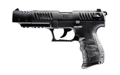 "WALTHER P22 TARGET 22LR 10+1 5"" BLK CA"
