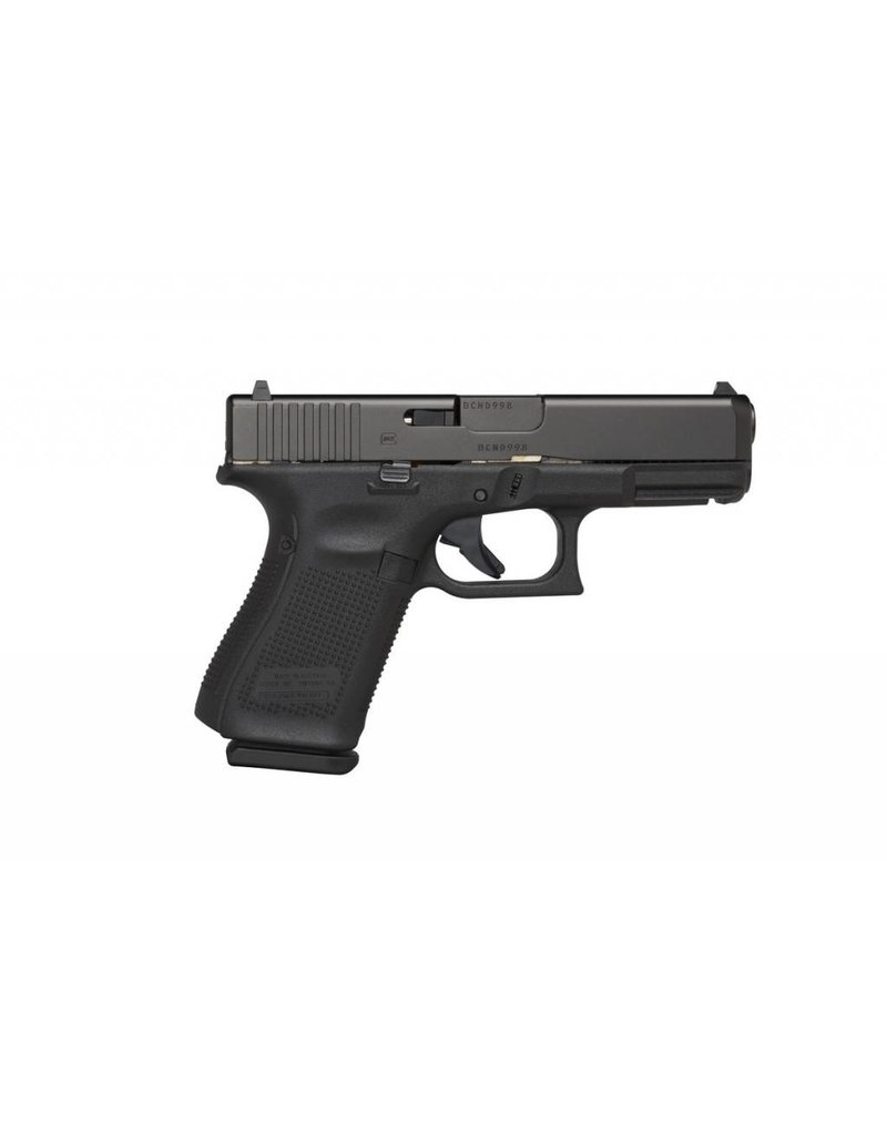 "GLOCK GLOCK 19 GEN5 9MM 4"" W/GLOCK NIGHT SIGHTS & 3 MAGAZINES BLUE LABEL ACTIVE LAW ENFORCEMENT ONLY"