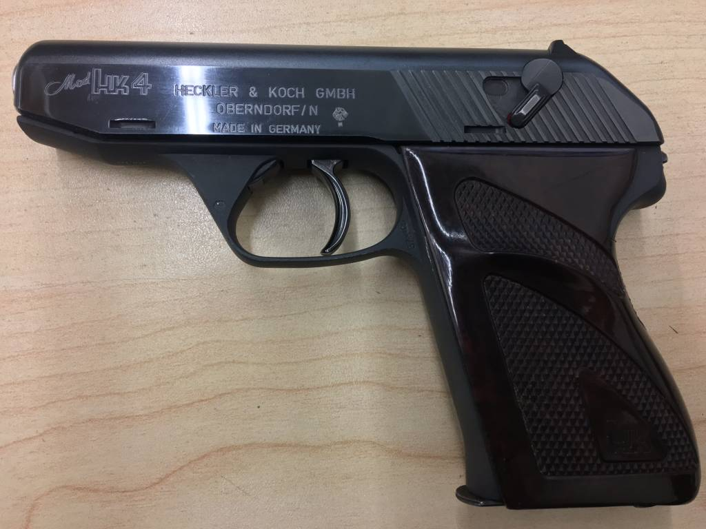 HECKLER & KOCH H&K MODEL 4 .22LR/.32ACP/.25ACP/.380 USED/CONSIGNMENT ***FINAL SALE*** TWO PISTOLS WITH SEQUENTIAL SERIAL NUMBERS $2000 EACH