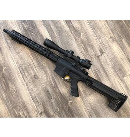 TARAN TACTIAL INNOVATIONS / JD MACHINE AR10 .308 COMPLETE RIFLE W/TRIJICON TR-26C-200104 AccuPoint USED/CONSIGNMENT
