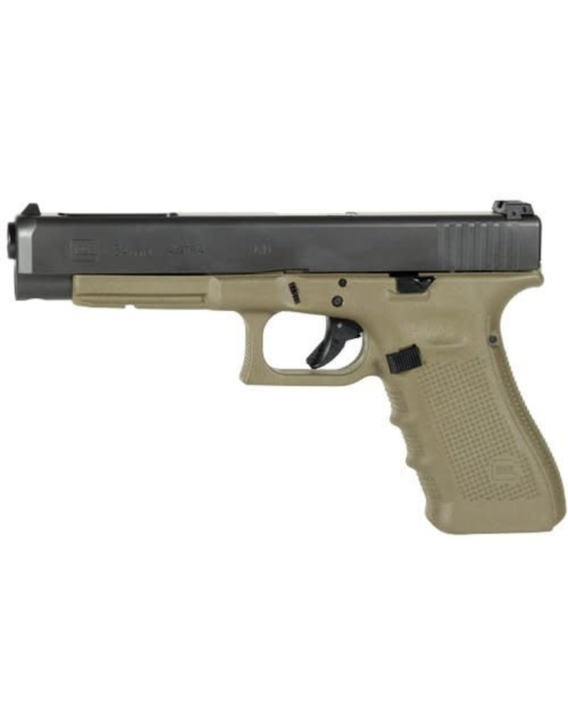 "GLOCK GLOCK 34 GEN 3 COMPETITION OD GREEN 9MM 5"" 10RD"