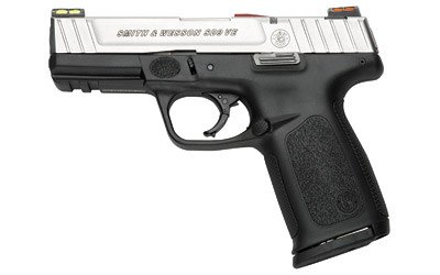 SMITH AND WESSON SMITH & WESSON SD9VE 9MM 2 10 ROUND MAGAZINES WITH FIBER OPTIC FRONT & REAR SIGHTS