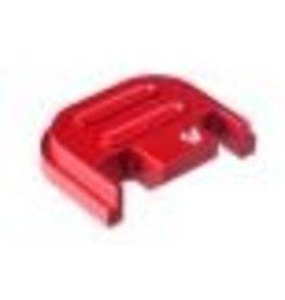 STRIKE INDUSTRIES STRIKE INDUSTRIES SLIDE COVER PLATE GLOCK V2 RED