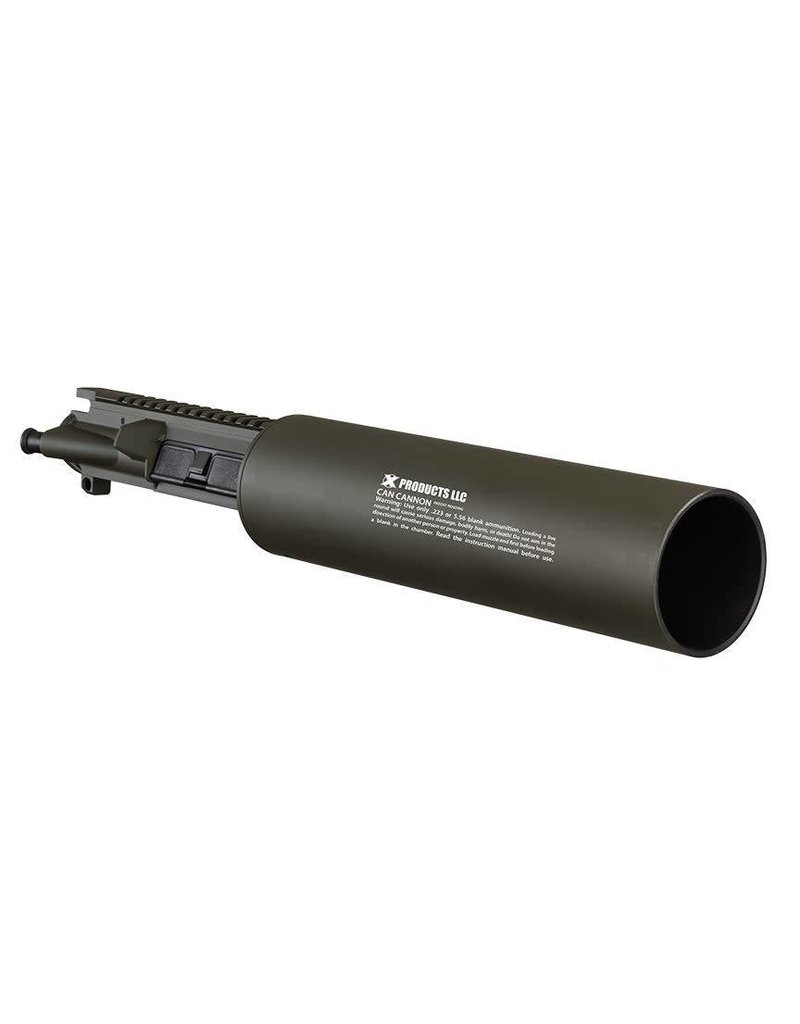 X PRODUCTS CAN CANNON OD GREEN CA OK ***ON SALE***