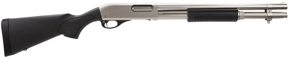 "REMINGTON ARMS - LONG GUNS REMINGTON 870 MARINE MAGNUM 12G 18"" BARREL NICKEL FINISH"