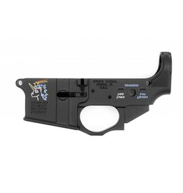 SPIKE'S TACTICAL ST-15 SNOWFLAKE STRIPPED LOWER COLORFILL