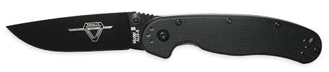 ONTARIO KNIFE CO. ONTARIO RAT II BLACK HANDLE