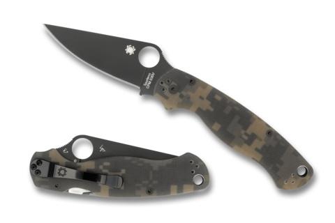 SPYDERCO SPYDERCO Para Military™ 2 G-10 Camo / Black Blade
