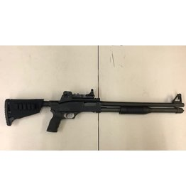"""FNH-USA USED FN TACTICAL POLICE SHOTGUN TPS 12G 18.5"""" COMPENSATED BARREL W/RED DOT"""
